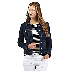 Red Herring - Dark blue denim western jacket