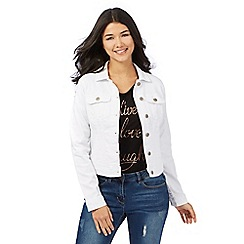 Red Herring - White denim western jacket