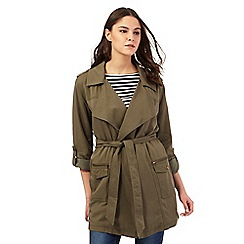 Red Herring - Khaki waterfall jacket