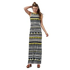 Red Herring - Multi-coloured Aztec print maxi dress