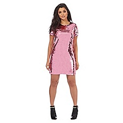 Red Herring - Pink sequin dress
