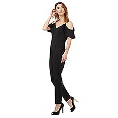 Red Herring - Black frill jumpsuit