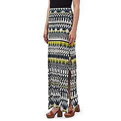 Red Herring - Multi-coloured Aztec print maxi skirt