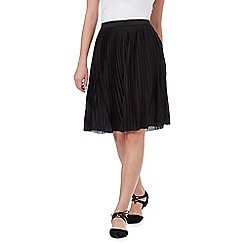 Red Herring - Black pleated skirt