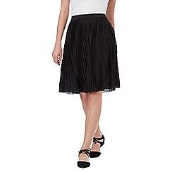 Red Herring - Black pleated skirt