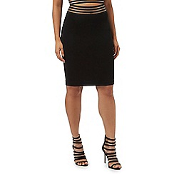 Red Herring - Black striped waist skirt