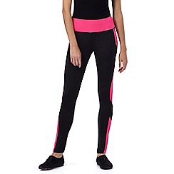 Red Herring - Black and neon pink leggings