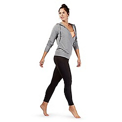 Red Herring - Grey wrap over hoodie with a cami insert