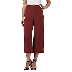 Red Herring - Dark orange culotte trousers