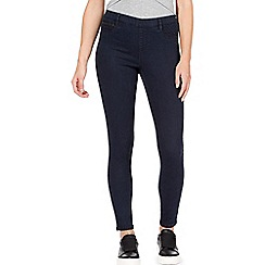 Red Herring - Red Herring blue regular fit 'Georgia' jeggings