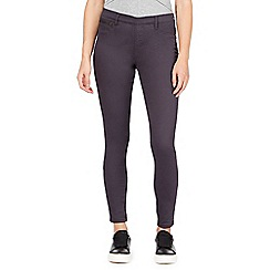 Red Herring - Grey 'Georgia' pull-on jeggings