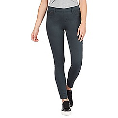 Red Herring - Khaki green 'Georgia' pull-on jeggings
