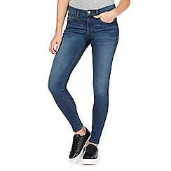 Red Herring - Blue 'Holly' supersoft ultra-stretch super skinny jeans