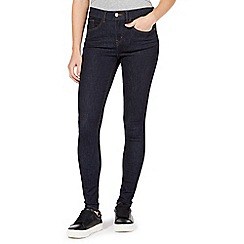 Red Herring - Dark blue 'Holly' supersoft ultra-stretch skinny jeans