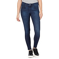 Red Herring - Dark blue 'Holly' super skinny jeans