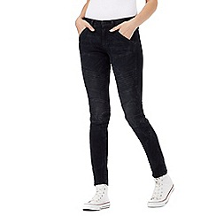 G-Star Raw - Navy dark wash skinny fit 'Lynn' mid waisted jeans