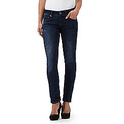 G-Star Raw - Dark blue mid wash 'Midge' straight leg jeans