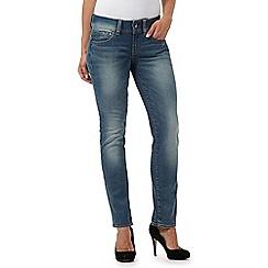G-Star Raw - Light blue mid wash 'Midge' straight leg jeans