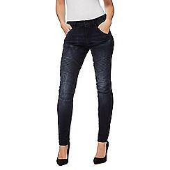 G-Star - Dark navy 'Elwood' skinny jeans
