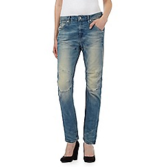 G-Star Raw - Light blue '5620' vintage wash boyfriend jeans