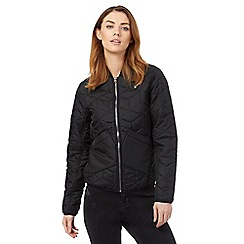G-Star Raw - Black quilted bomber jacket