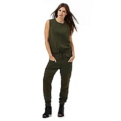 G-Star Raw - Khaki 'Radar' jumpsuit