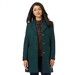 Red Herring - Dark green city coat