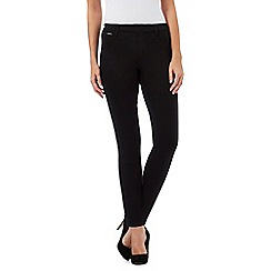 Red Herring Petite - Black 'Georgia' pull-on jeggings