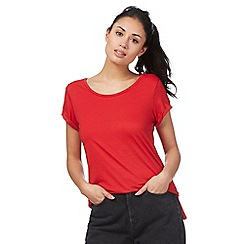 Red Herring - Red relaxed fit t-shirt