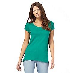 Red Herring - Green scoop neck t-shirt