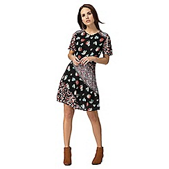Red Herring - Multi-coloured floral print dress