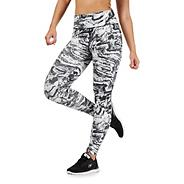 Black and white marble print leggings