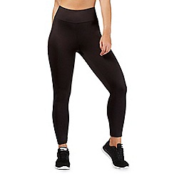 Red Herring - Black mesh panel leggings