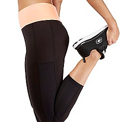 Red Herring - Black crop legging