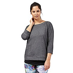 Red Herring - Grey 2-in-1 active top