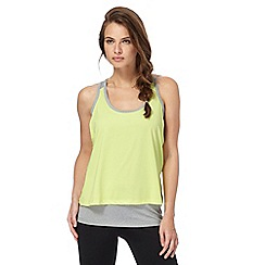 Red Herring - Lime double layered vest