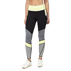 Red Herring - Lime colour block leggings