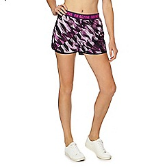 Red Herring - Multi-coloured zig zag print shorts