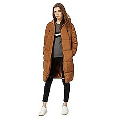 Red Herring - Dark orange padded coat