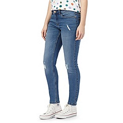 Noisy may - Blue 'Lucy' destroyed jeans