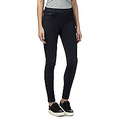 Red Herring - Blue 'Georgia' denim mid rise jeggings