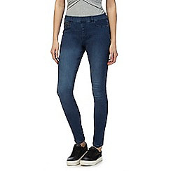 Red Herring - Light blue 'Georgia' denim mid rise jeggings