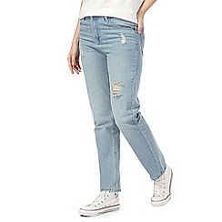 Noisy may - Blue straight fit jeans
