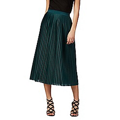 Red Herring - Green pleated skirt