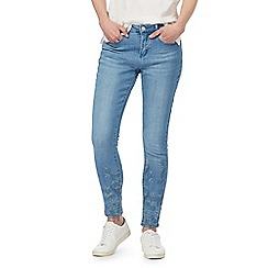 Red Herring - Blue mid wash 'Lulu' skinny jeans