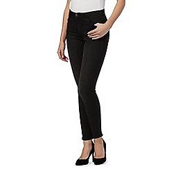 Wrangler - Black high rise skinny jeans