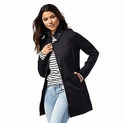 G-Star Raw - Navy zip through trench coat