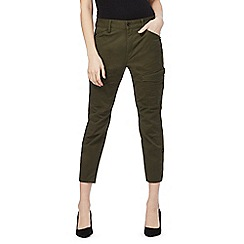 G-Star - Khaki 'Rovic' skinny front pocket jeans
