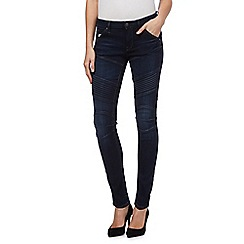 G-Star Raw - Dark blue mid-rise skinny jeans