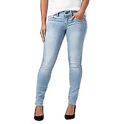 G-Star - Light blue mid wash 'Lynn' skinny jeans
